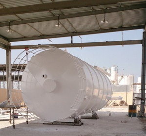 Silos for storage of Cement, Concrete, Fly Ash, Micro Silica, and other aggregates.