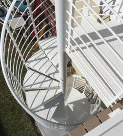 SPRIAL TYPE STAIRCASE